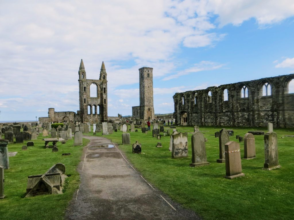 Aberdeen to Edinburgh Private Tour/Transfer - St Andrews Cathedral