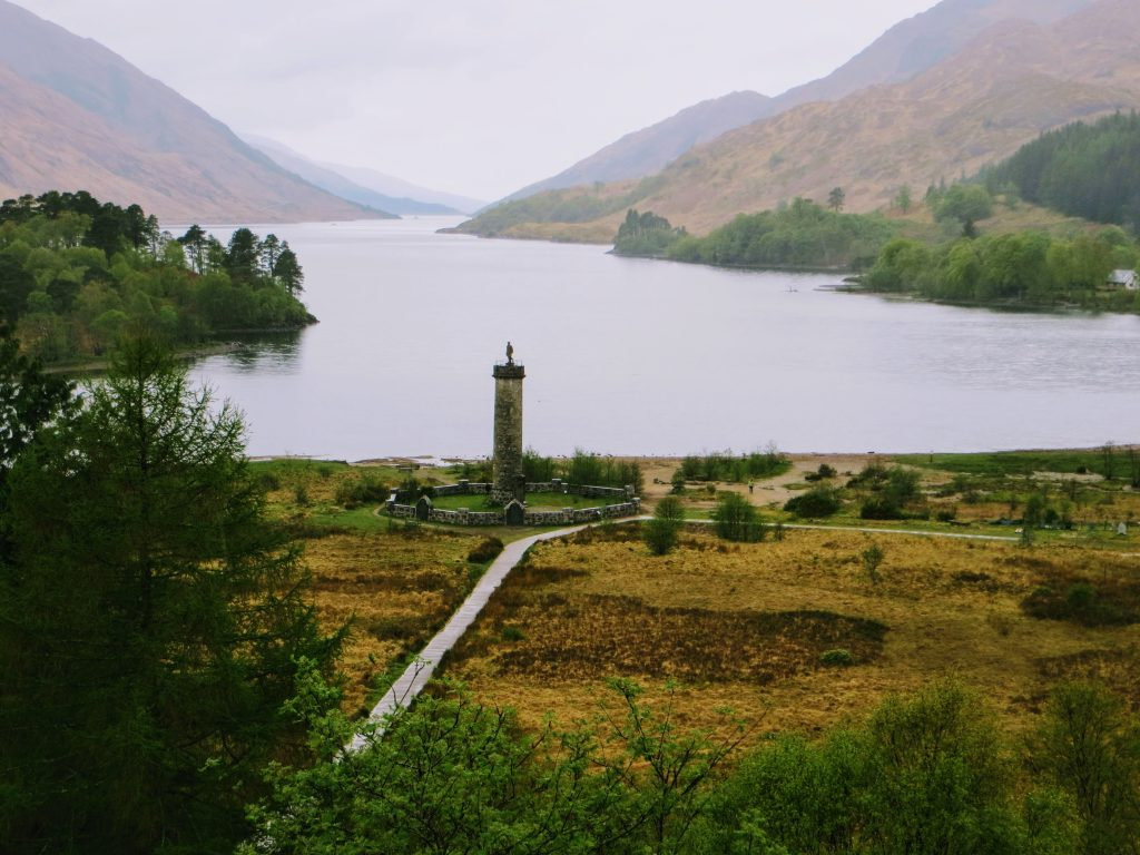 Harry Potter Private Tour Scotland - Glenfinnan Monument