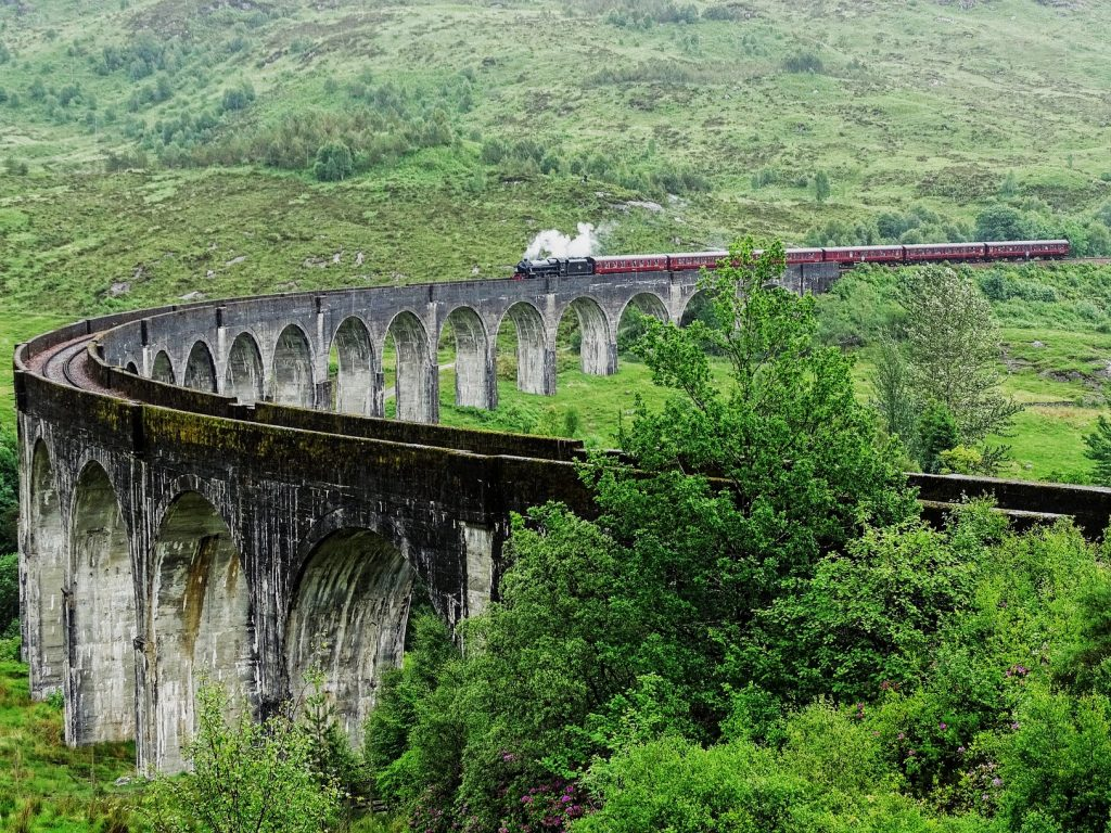 Harry Potter Private Tour Scotland - Jacobite Train