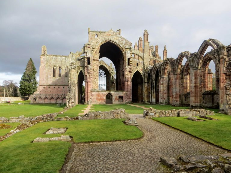 Scottish Borders Tour - Melrose Abbey