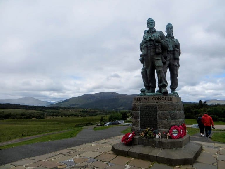 Glasgow to Inverness Tour Transfer - Commando Memorial