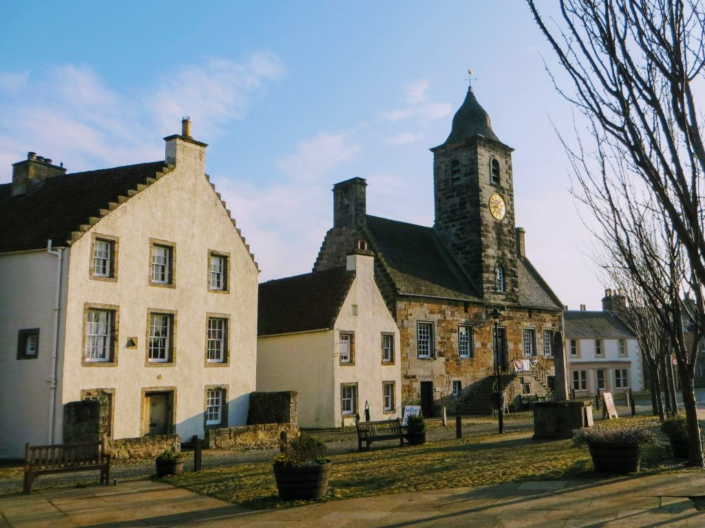 Outlander set locations in Scotland - Culross