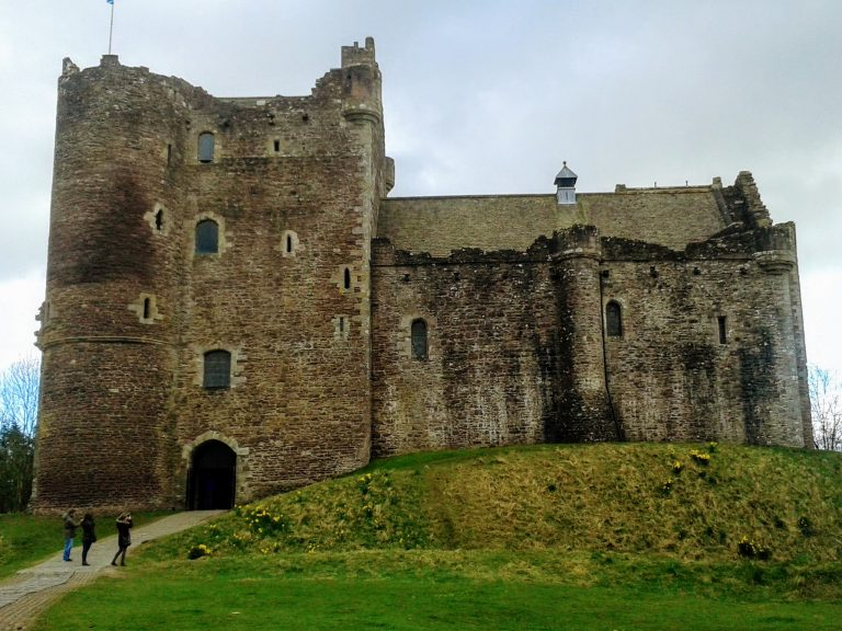 Outlander set locations in Scotland - Doune