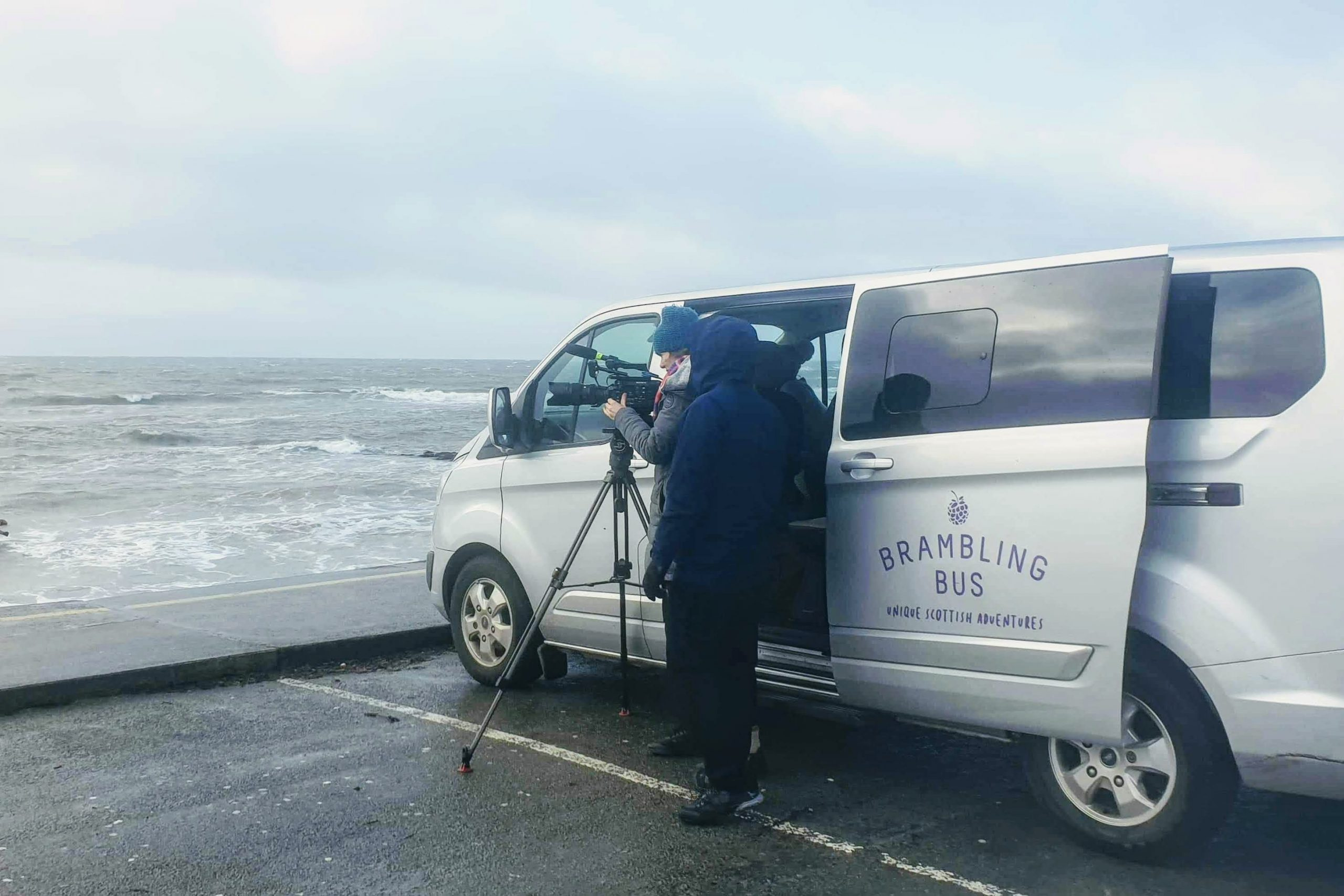 Film Transport Services Scotland - Shooting