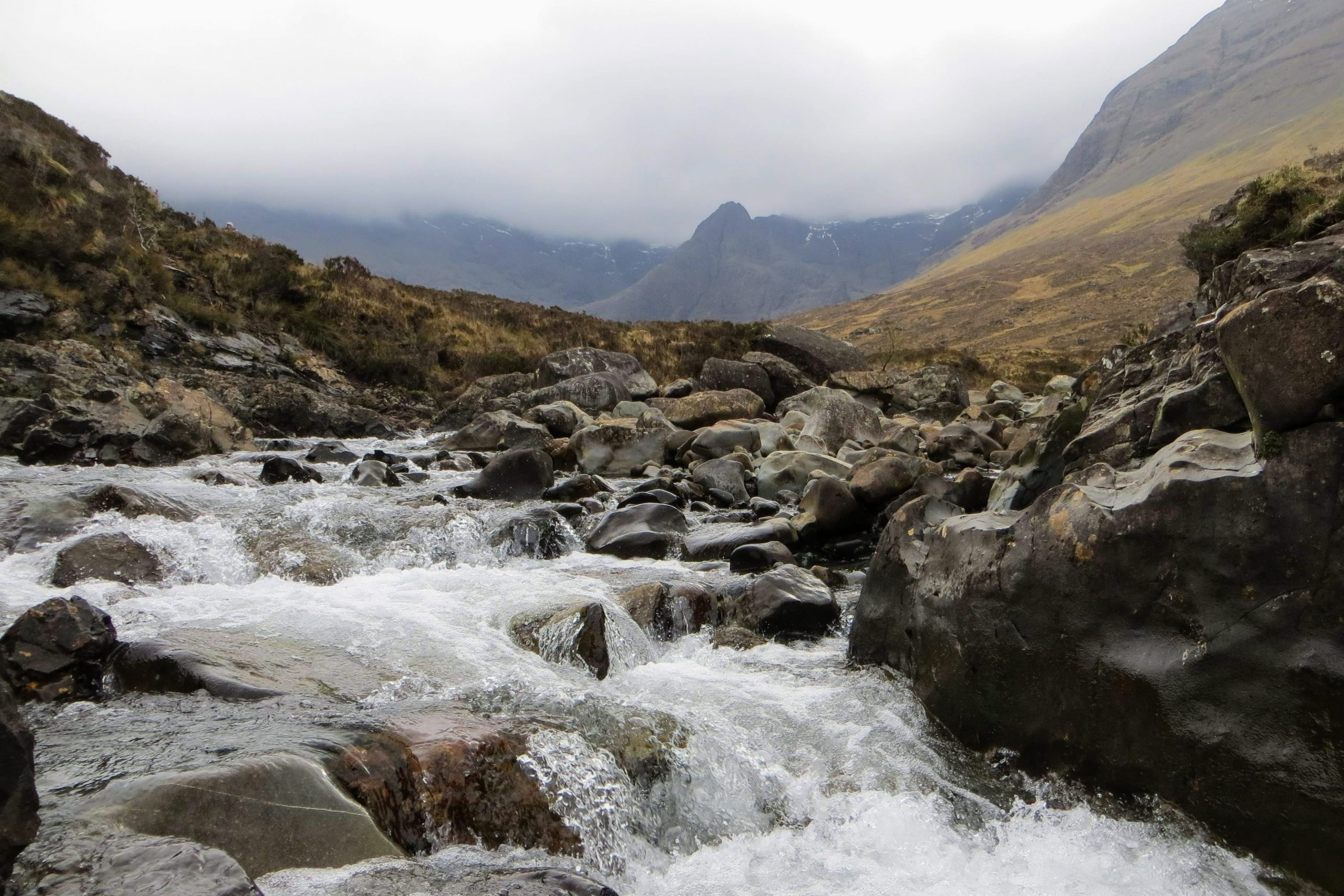 Long Tours of Scotland - Fairy Pools