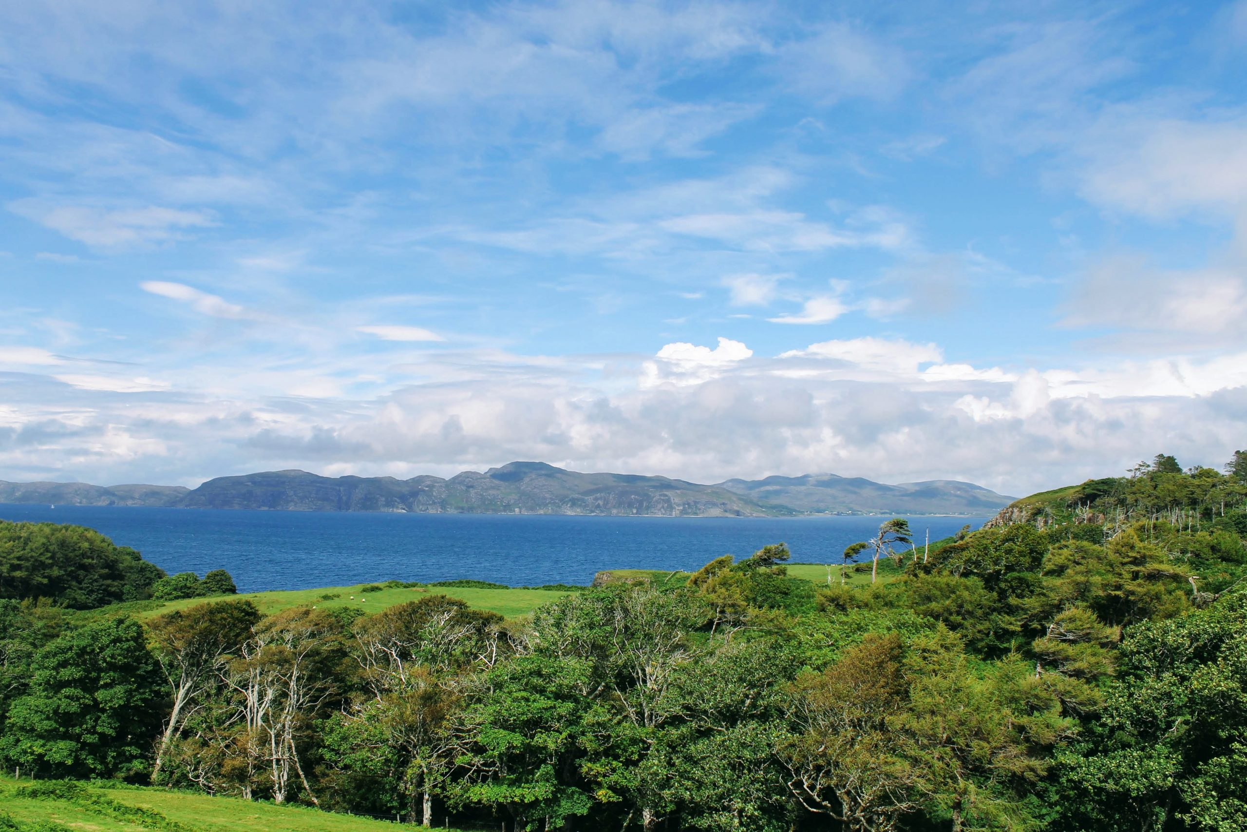 Mull and Iona Tours - Sea view