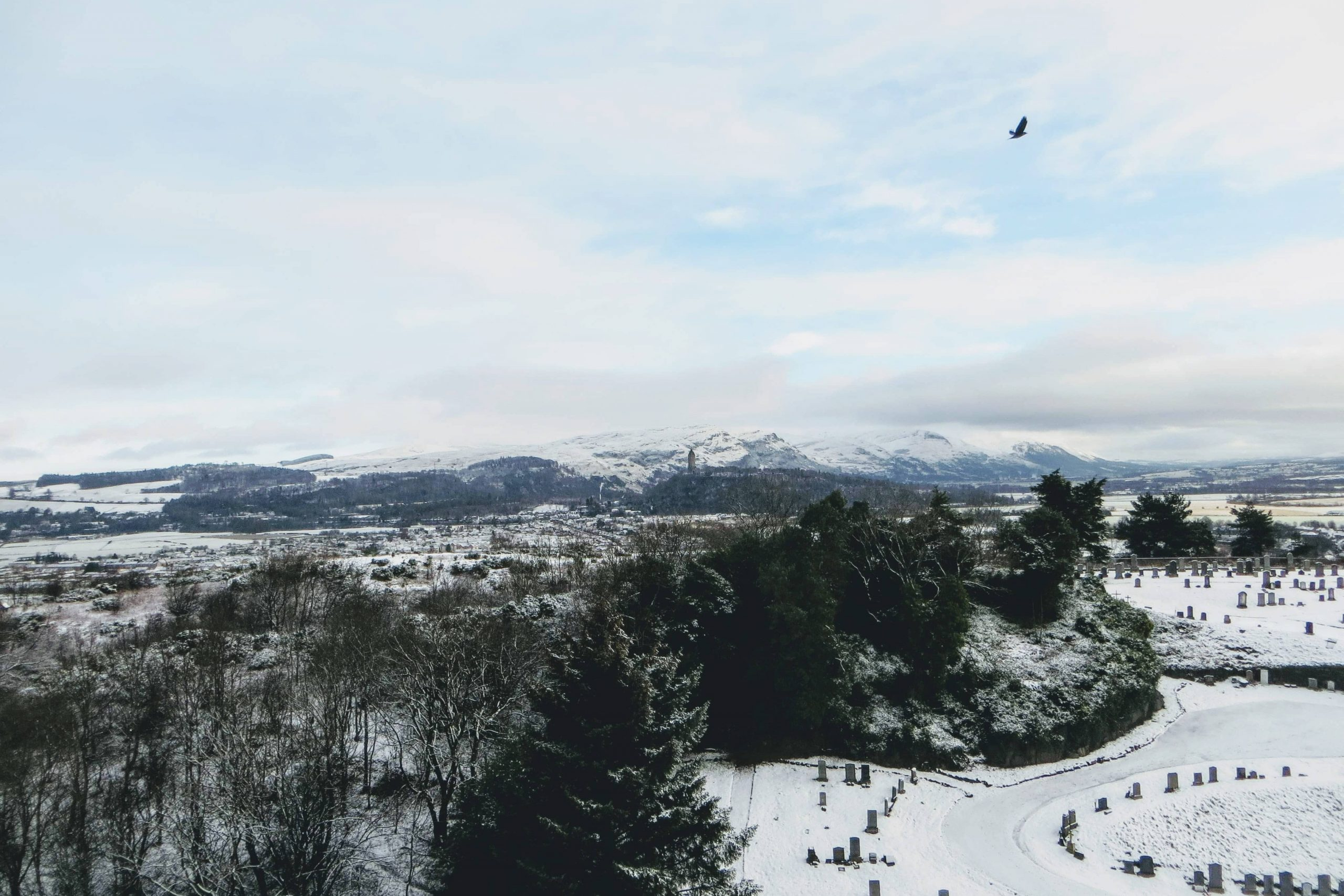One-day Tours of Scotland - Winter Stirling