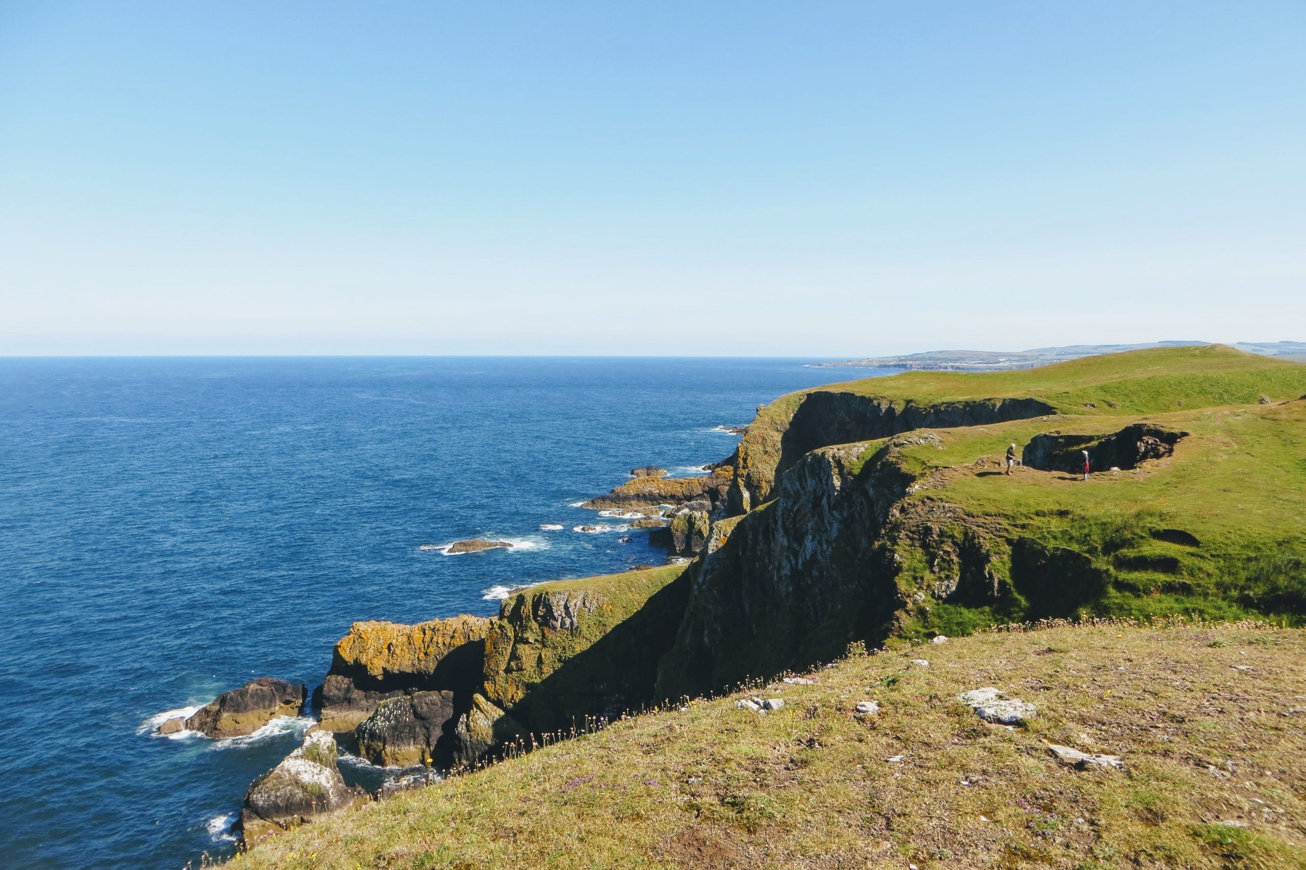 Private Tours of Scotland - St Abbs Cliffs
