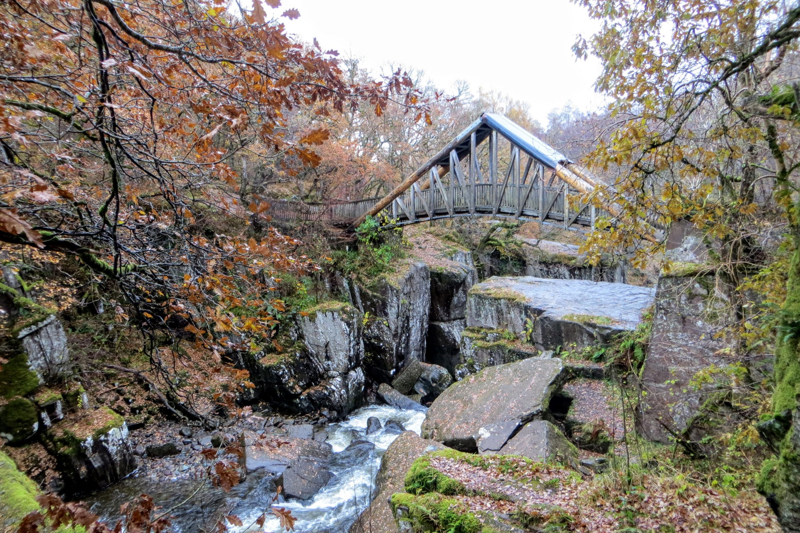 Scotland in Autumn - Bridge