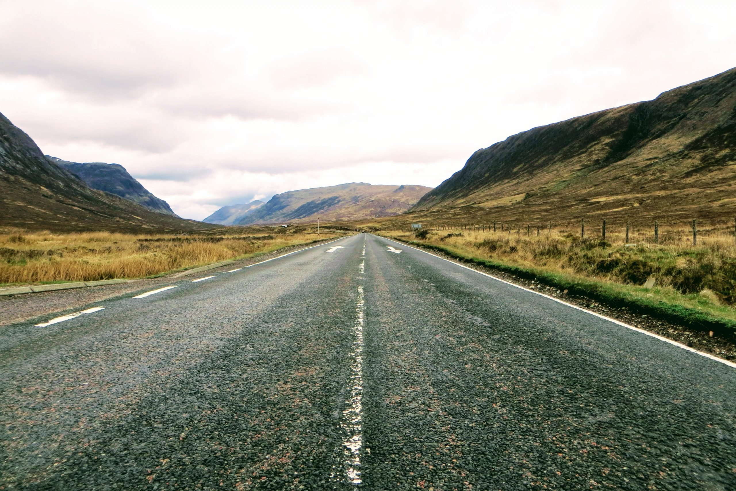 Tailor-made Tours of Scotland - Road