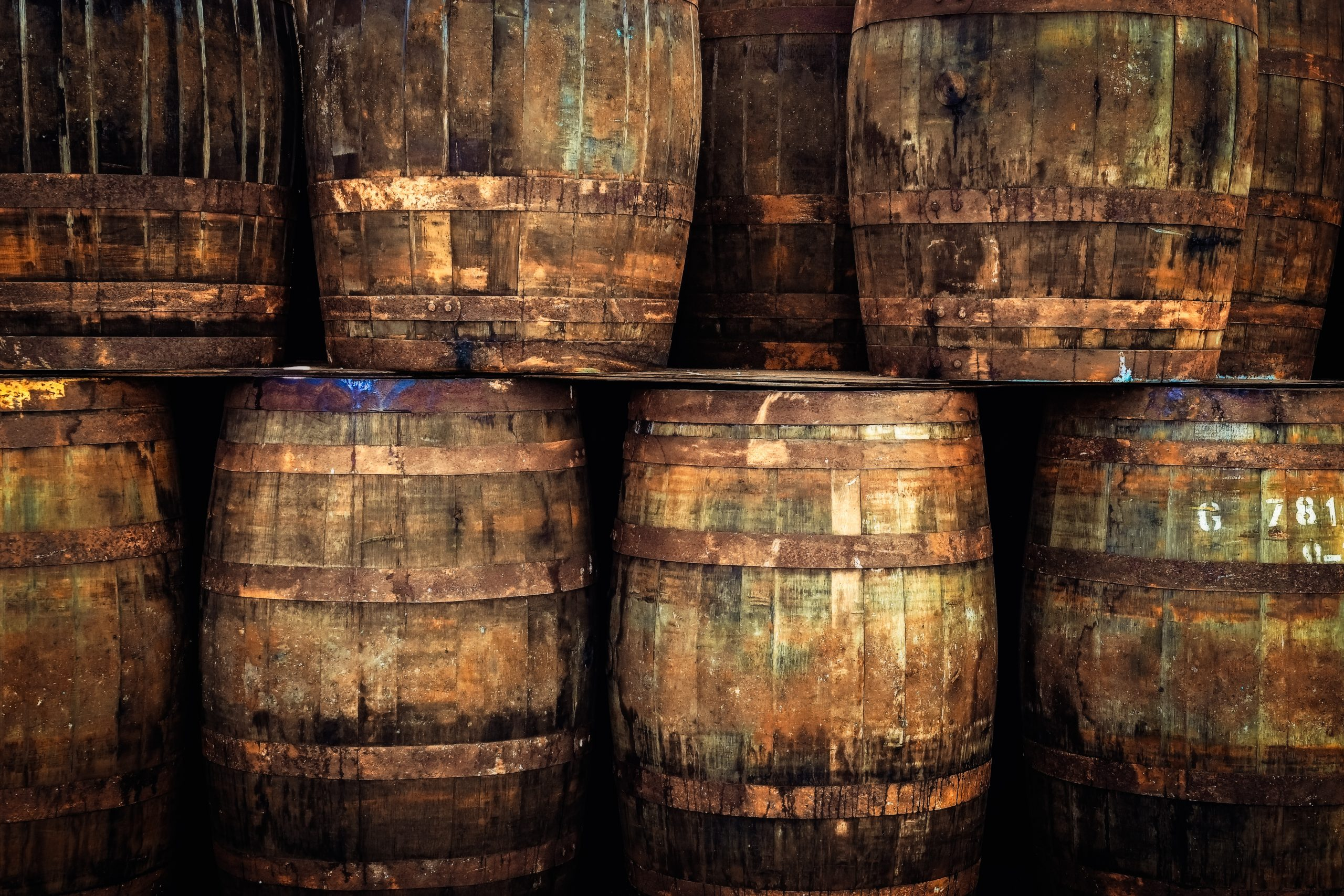 Themed Tours of Scotland - Whisky Casks