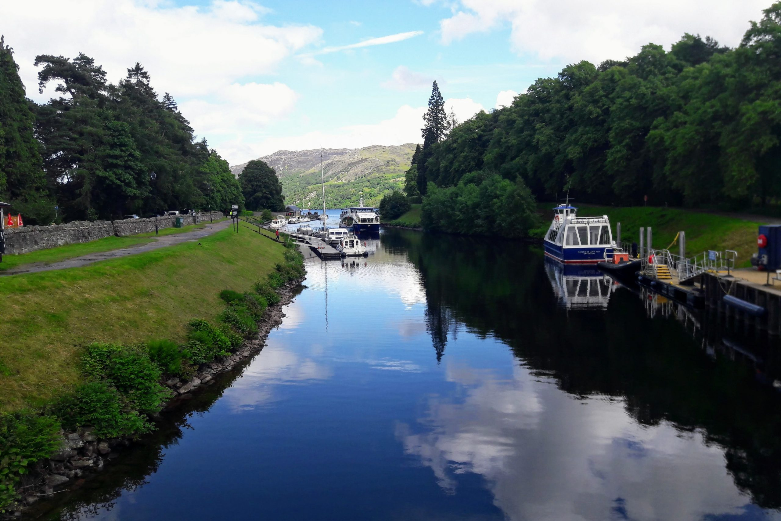 Tour of the Cairngorms - Fort Augustus